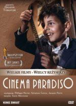 Wydarzenie: Cinema Paradiso   z taśmy 35 mm   pamięci E. Morricone